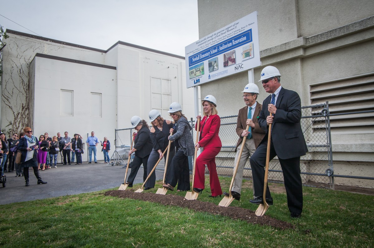 Historic Newhall School District Project Begins